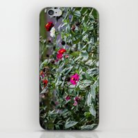Even The Flowers Are Dea… iPhone & iPod Skin