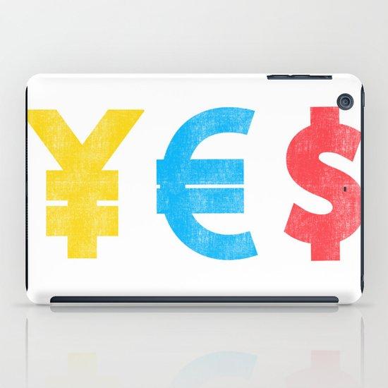 Money Money Money iPad Case