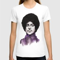 The Prince Womens Fitted Tee White SMALL