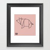 Inoshishi Framed Art Print