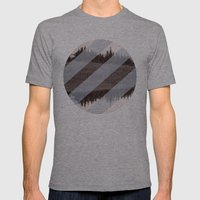 Banana Hammock  Mens Fitted Tee Athletic Grey SMALL