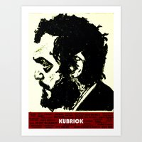 Kubrick Portrait Art Print
