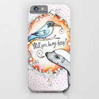 iPhone & iPod Case featuring Be my honey? by Ugly Yellow
