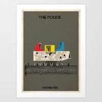 The Police Art Print