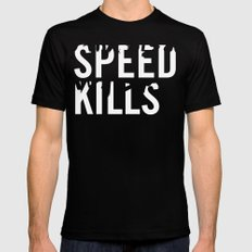 Speed Kills 2 Mens Fitted Tee SMALL Black