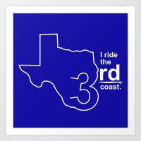 TX 3rd Coast Art Print