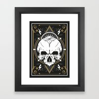 Skull design Framed Art Print