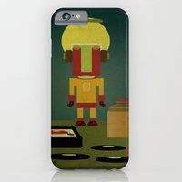 iPhone & iPod Case featuring CRATE DIGGER by Carlos Hernandez