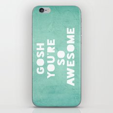 Gosh iPhone & iPod Skin