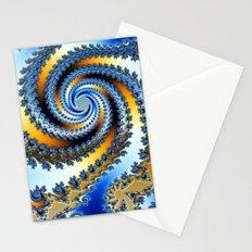 Julia Hurricane ( Fractal ) Stationery Cards
