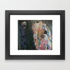 Gustav Klimt - Death and Life Framed Art Print