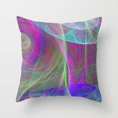 Air colors Throw Pillow