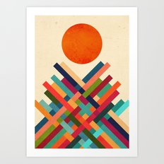 Sun Shrine Art Print