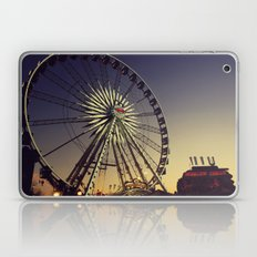 Dusk at the Carnival Laptop & iPad Skin