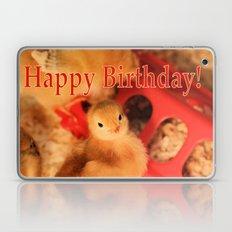 Birthday Peeps! Laptop & iPad Skin