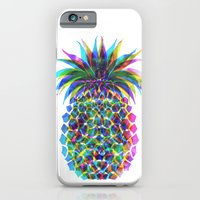 iPhone & iPod Case featuring Pineapple CMYK by Schatzi Brown
