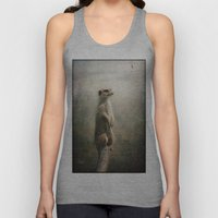 The Watcher on the post... Unisex Tank Top