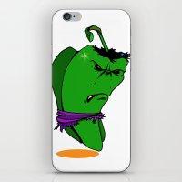 PepperHulk iPhone & iPod Skin