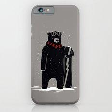 Bear on snowboard Slim Case iPhone 6s