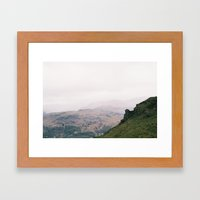 Lakes Framed Art Print