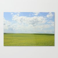 The Grass Is Always Gree… Canvas Print