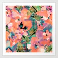 Tropicallista Peach Art Print
