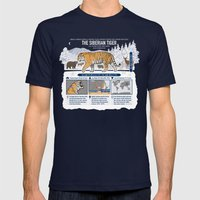 The Wild Ones: Siberian Tiger (info) Mens Fitted Tee Navy SMALL