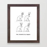 The Probability Magnet (… Framed Art Print