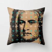 Johann Sebastian Bach Throw Pillow