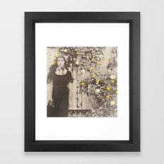 Dahlia Gaze Framed Art Print