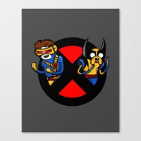 Mutant Time Canvas Print