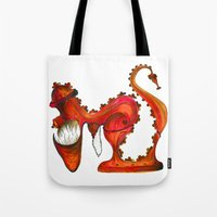Hungry Fire Hydrant Tote Bag