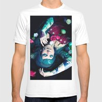 Bloom to fall apart Nr.1 Mens Fitted Tee White SMALL