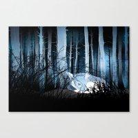 Soft Sleep Canvas Print
