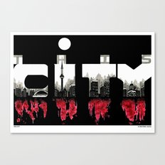 THIS CITY Canvas Print