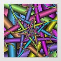 Star Fractal Canvas Print