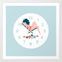 Watch Art Print