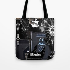 Broken, Rupture, Damaged… Tote Bag