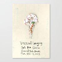 Visceral Longing  Canvas Print