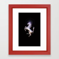 Ferrari Framed Art Print
