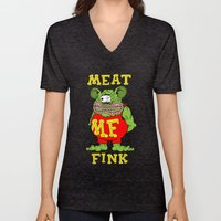 Meat Fink Unisex V-Neck