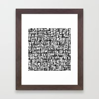 Abstract Mosaic  Framed Art Print