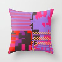 Taintedcanvas54 Throw Pillow