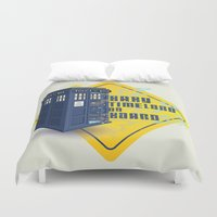 Doctor Who Tardis - Baby Timelord on Board Duvet Cover