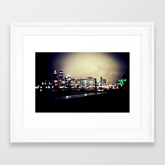 pdx Framed Art Print