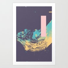 Purpura Lafo Art Print