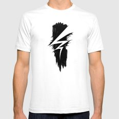 Lightning Arts Logo Mens Fitted Tee White SMALL
