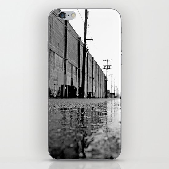 Gritty urban alley iPhone & iPod Skin