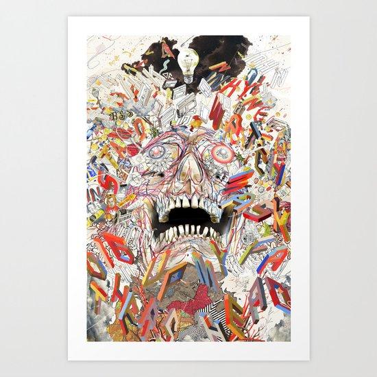 Kn Pc Infinite Jest Art Print By Cody Hoyt Society6