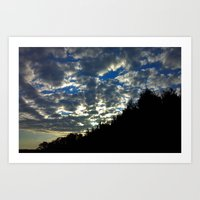 Another Sunrise In South… Art Print